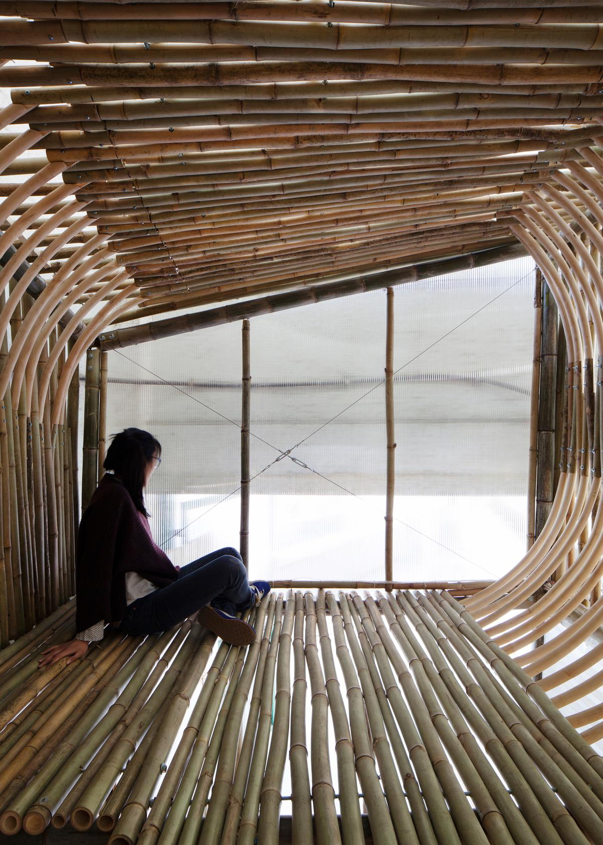 The Bamboo Micro-House prototype unit is designed by Hong Kong architectural firm AFFECT-T (Photo: AFFECT-T)