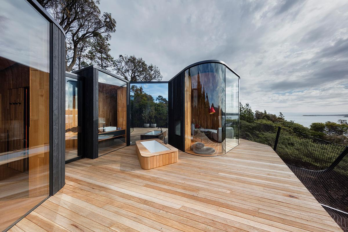 The Freycinet Lodge Coastal Pavilions opened their doors in March