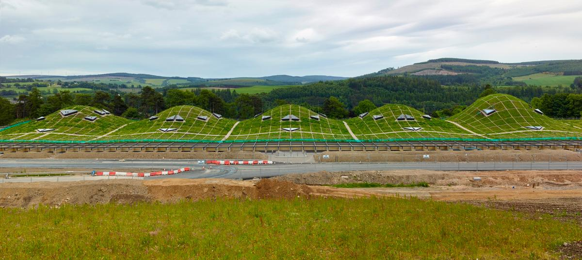 The Macallan New Distillery and Visitor Experienceis located in the same Scottishestate that has been producing whisky since 1824