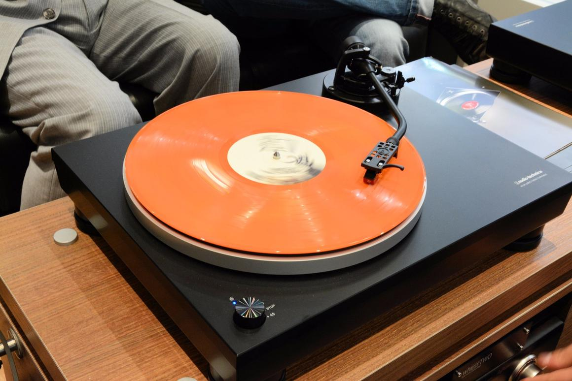 Audio Technica's entry-level AT-LP5 turntable will be available later this month