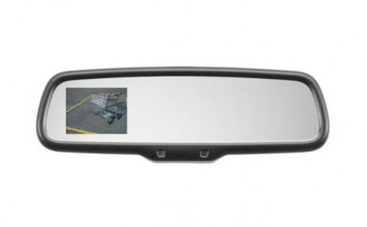 The Gentex Rear Camera Display Mirror automatically displays a rear view when reversing