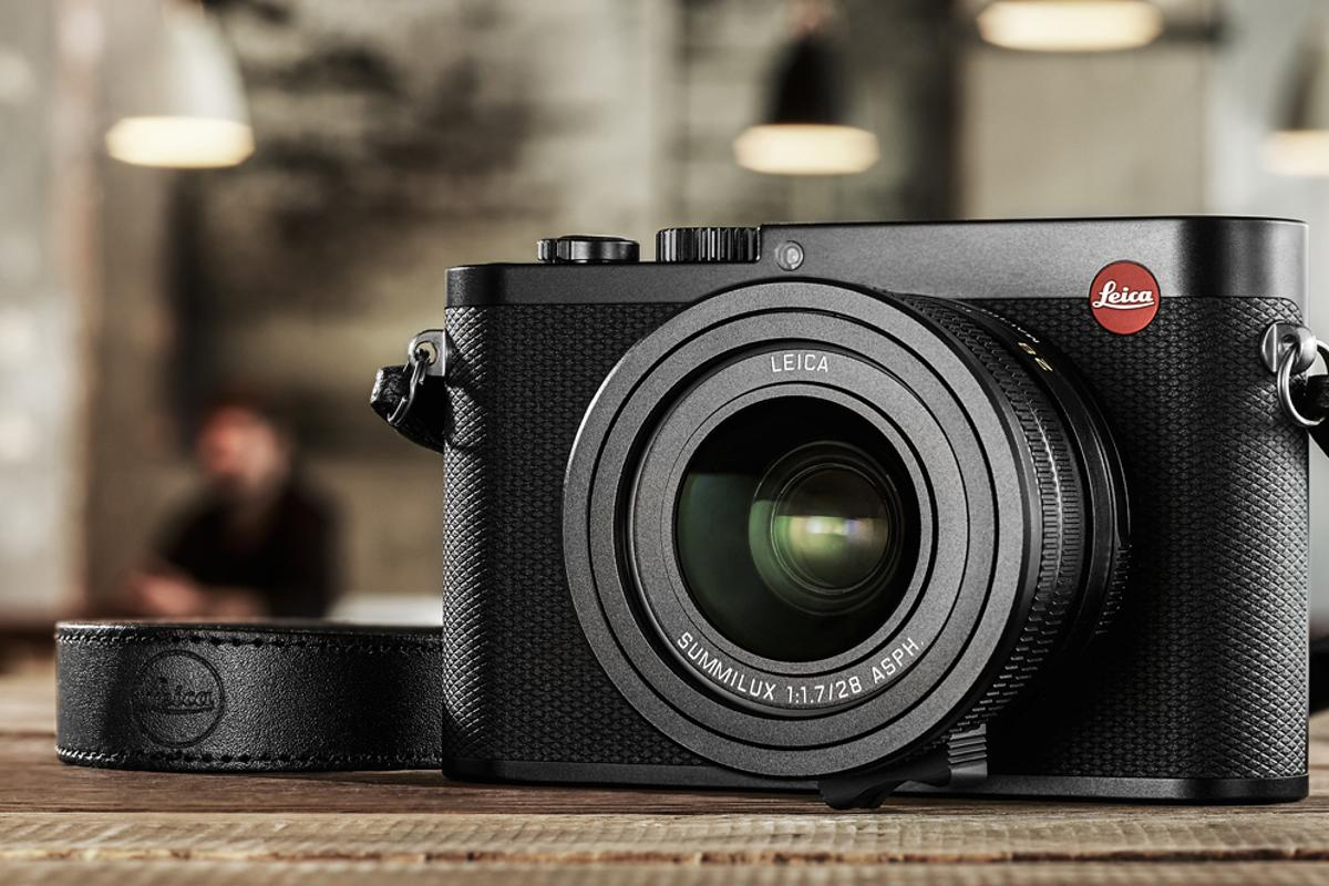 The Leica Q is a stylish full frame fixed lens compact camera