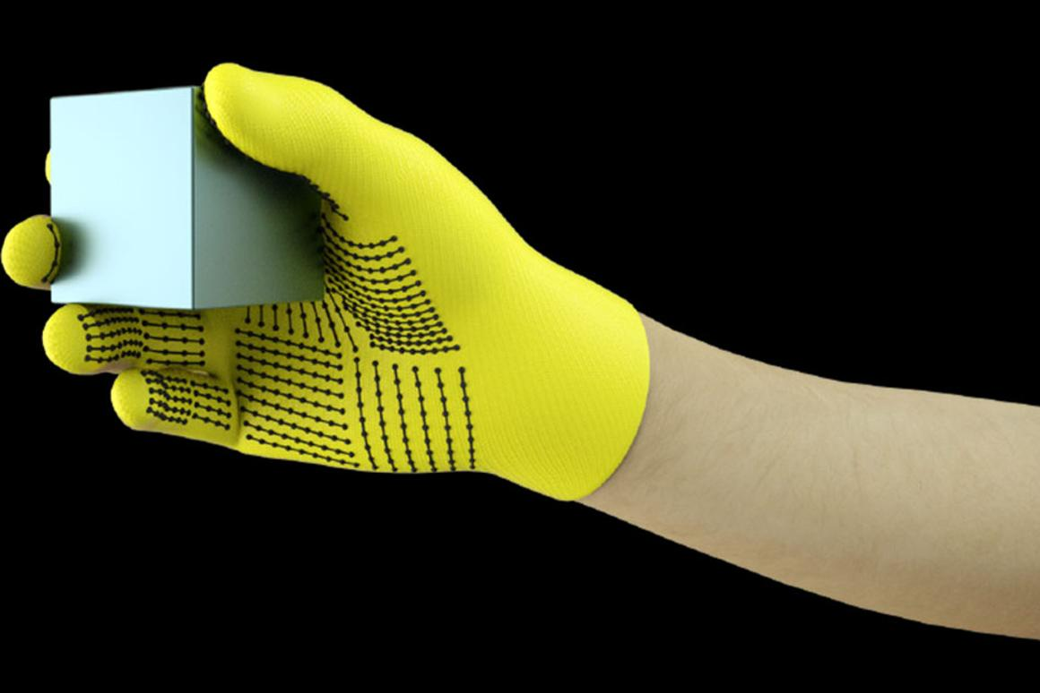 MIT researchers have developed a low-cost, sensor-packed glove that captures pressure signals as humans interact with objects