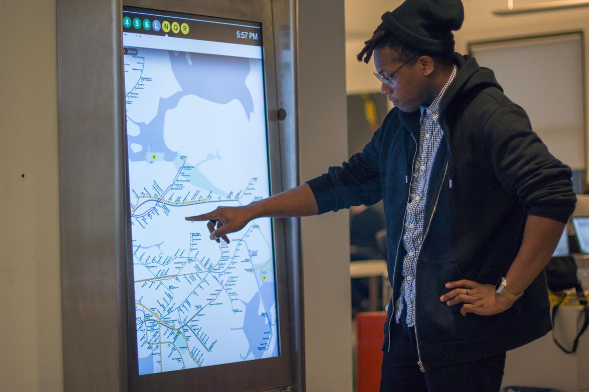 New York City plans to replace the maps in its subway stations with touch screen displays that will provide simple directions and real-time service alerts