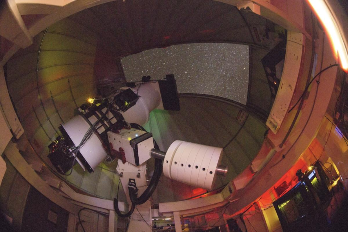 ATLAS telescope unit on Haleakalā, Maui