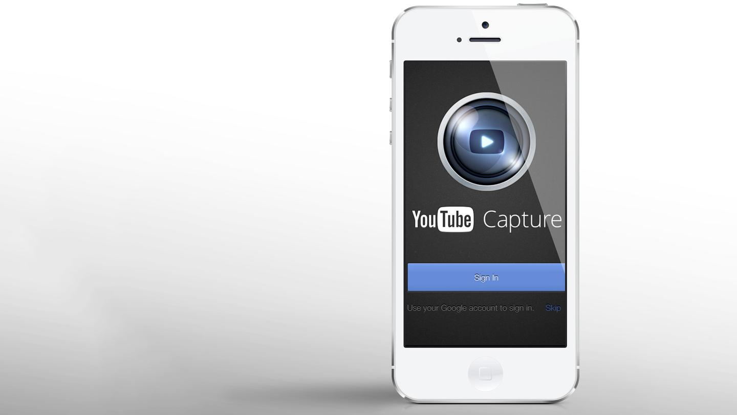 YouTube Capture is a smooth new video app