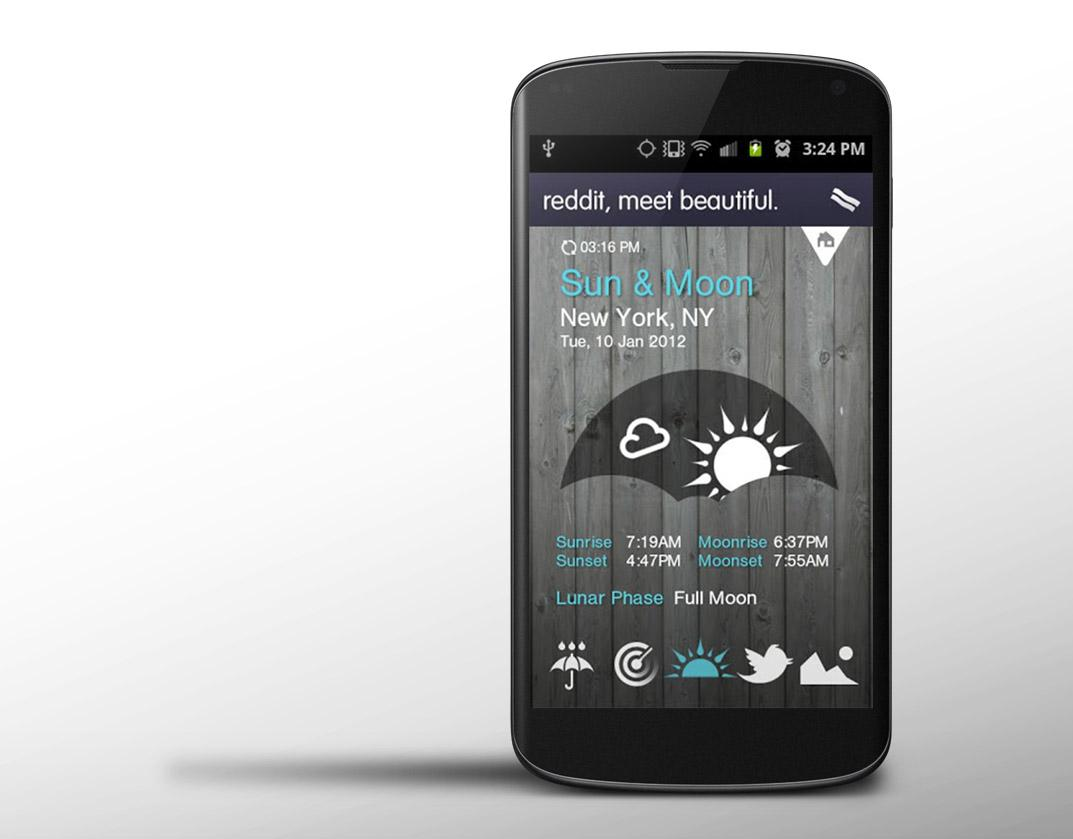 1Weather is the most attractive weather app on Android