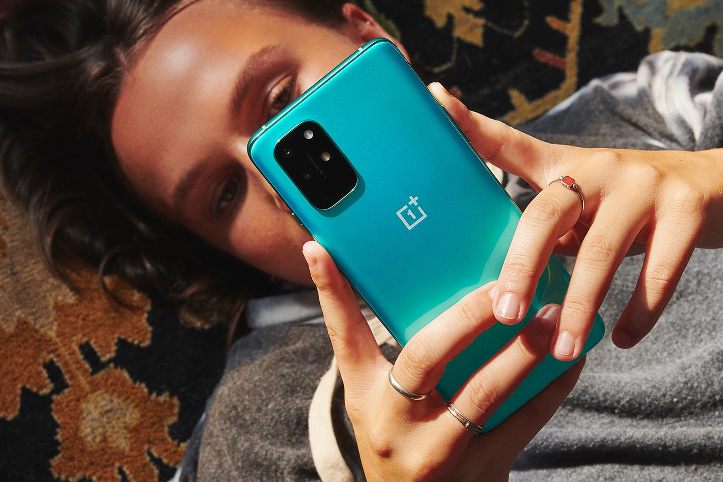 This is the OnePlus 8T, which should get a successor around March time