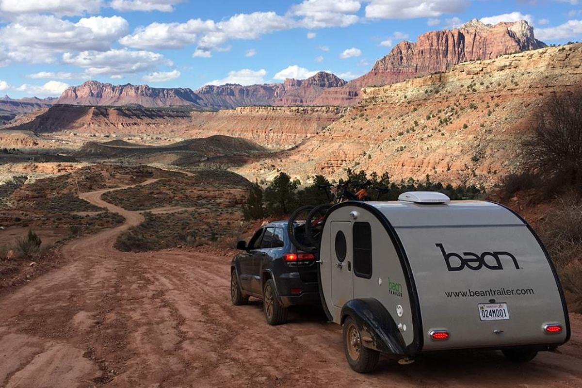 The Bean journeys through Southern Utah's colorful scenery
