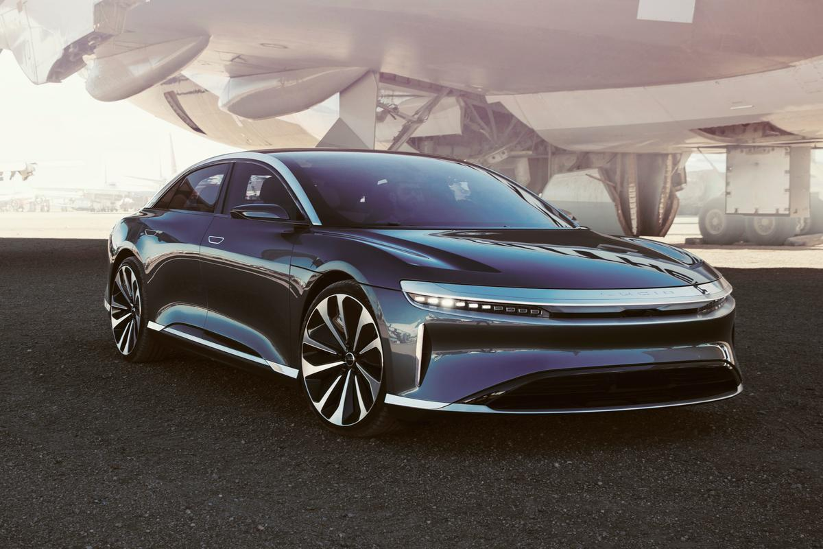 The Lucid Air proves its worth with a 517-mile estimated range