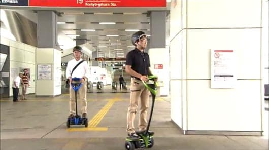 Toyota is testing the safety and practicality of the Winglet, a personal mobility robot it first unveiled in 2008
