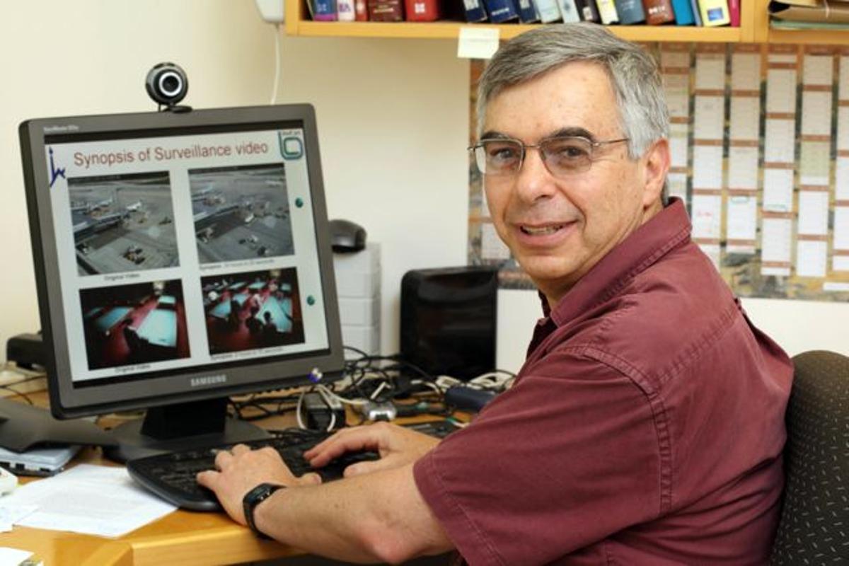 Prof. Shmuel Peleg, of the Hebrew University of Jerusalem