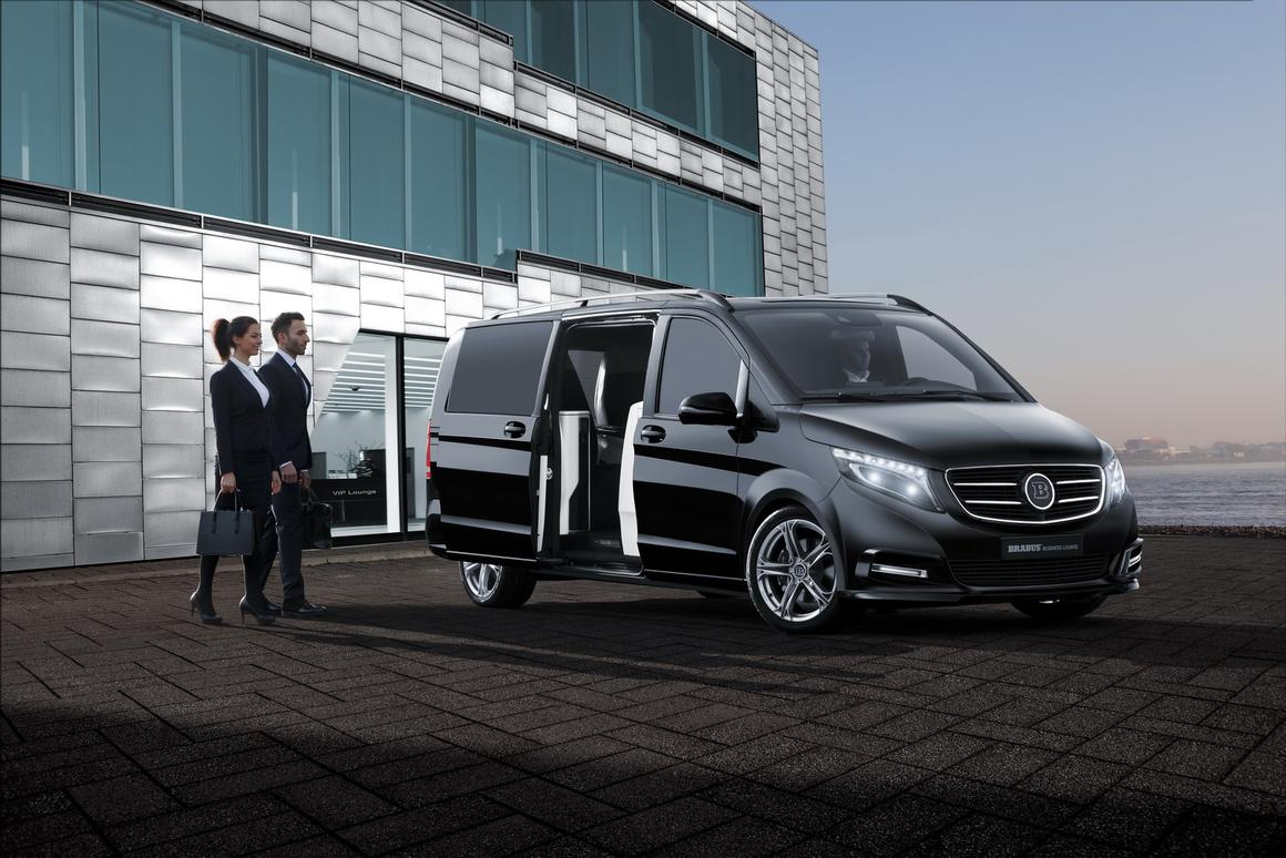 The Brabus V-Class Business Lounge looks like one of the most comfortable ways to travel by highway