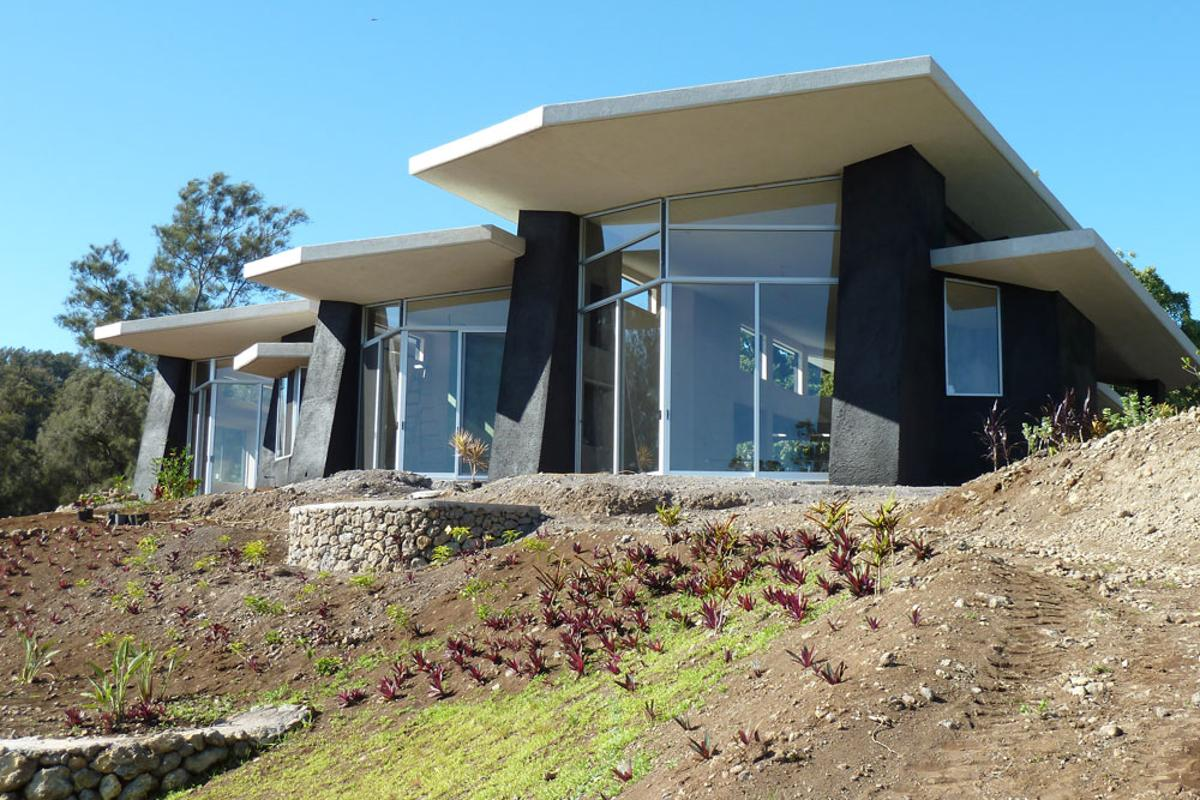 Hi'ilani EcoHouse was completed earlier this month (Photo: Studio RMA)
