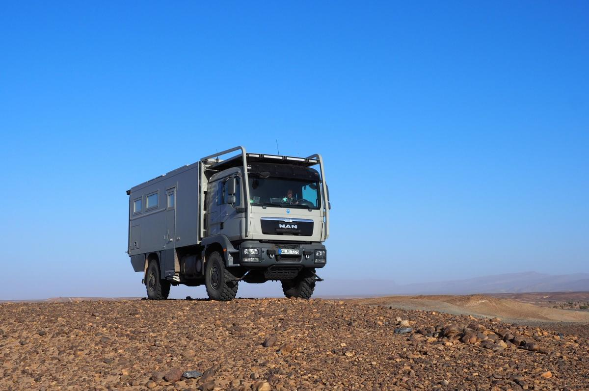 Unicat doesn't mess around when it comes tobig, burly expedition vehicles, and the MANMD57 is no exception