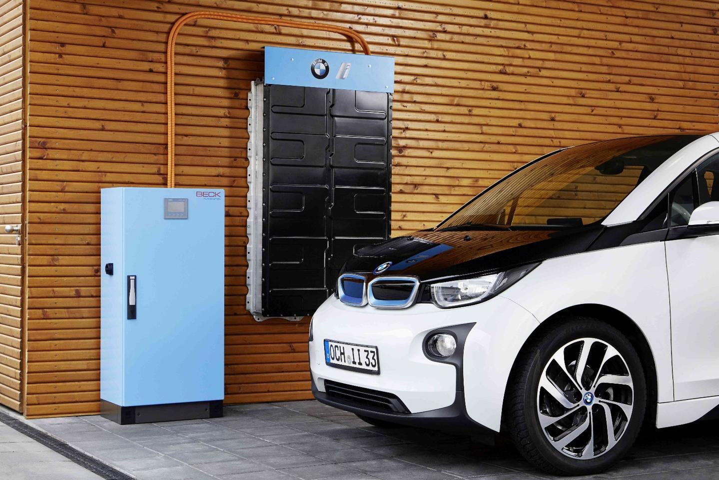 BMW explores an i3 battery pack-based home energy storage system