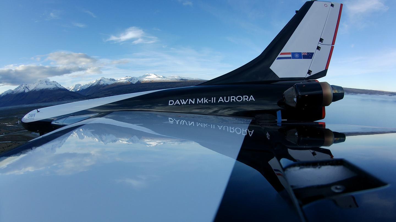 Wingtip view of the Mk-II Aurora