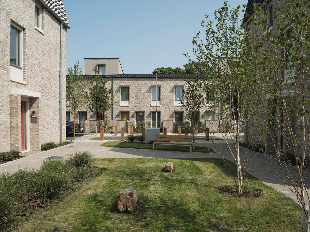 Goldsmith Street, by Mikhail Riches with Cathy Hawley, is a superb sustainable social housing project in the UK