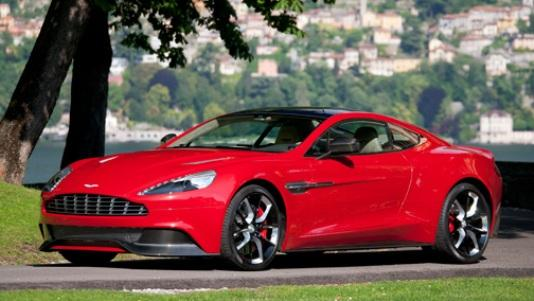 The AM310 concept debuted at the Concorso d'Eleganza Ville d'Este