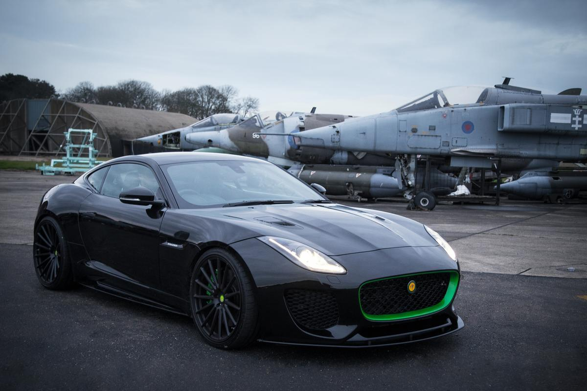 Lister's all-new Thunder boasts a 666-bhp 5.0-liter supercharged V8 and a 208-mph top speed