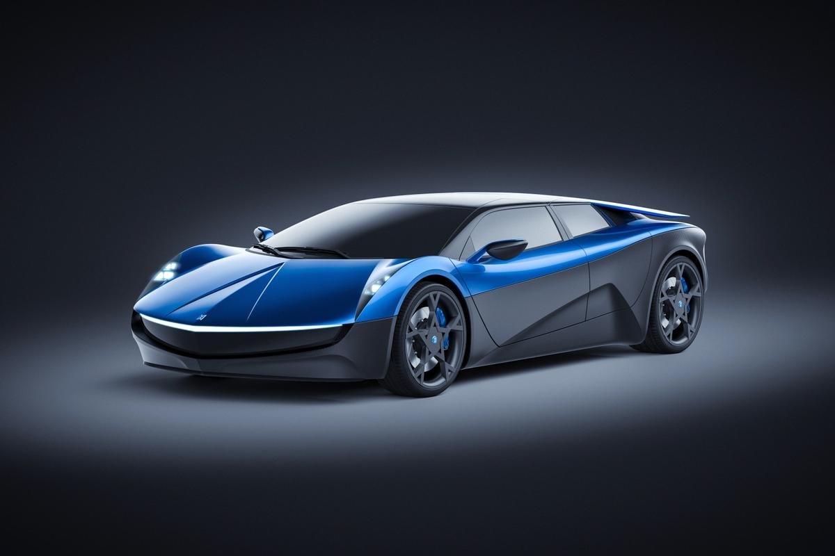 The Elextra's new look is very Italian, with some Ferrari-Lamborghini appeal in its wedge nose and Countach-like style