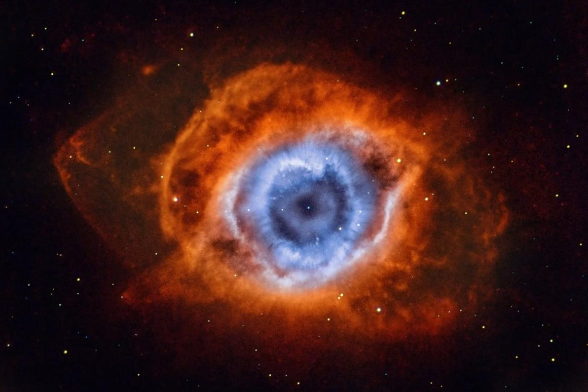 Eye of Mordor:This stunningimage is the result of narrowband data on the Helix Nebula, gathered over two months from suburban Melbourne, Australia