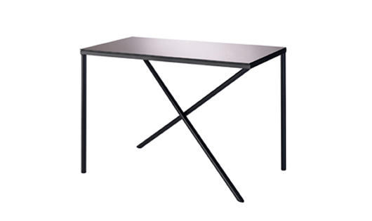 From this angle it's clear to see how the legs support the top of Illusion Table