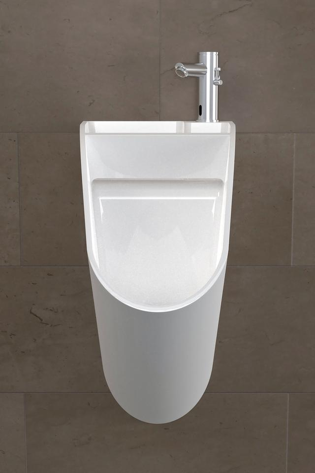 The Tandem is a combination sink and urinal