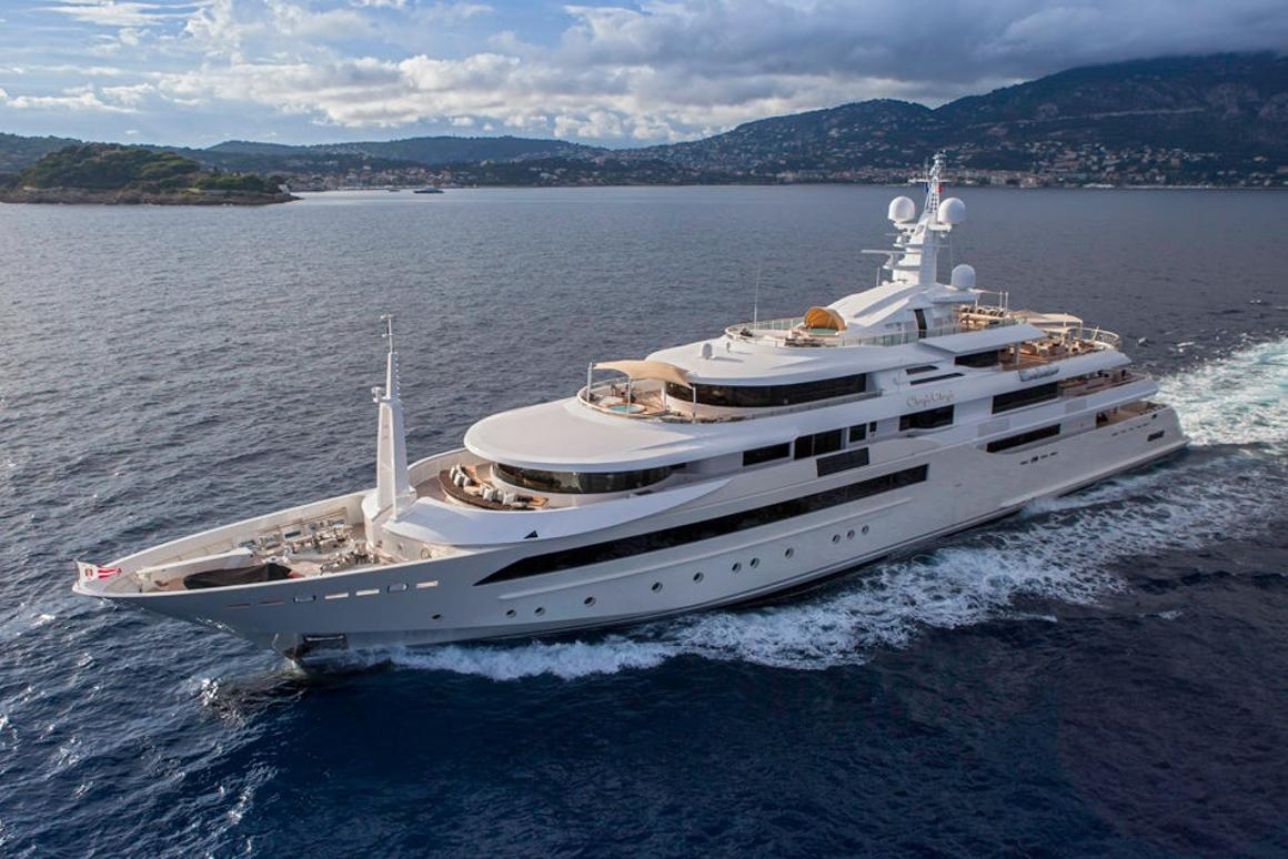 CRN shipyard's Chopi Chopi boasts immense proportions and is more like a floating mansion than atraditional superyacht