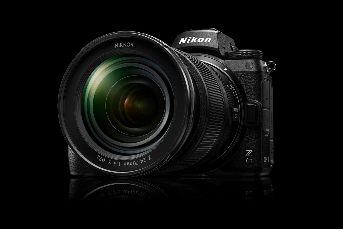 The Z6 II (shown) and Z7 II full-frame mirrorless cameras offer more power, speed and precision than their predecessors