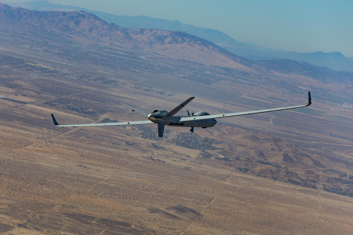 """The SkyGuardian version of the """"Certifiable"""" Predator B has set a new endurance record for Predator-family aircraft"""
