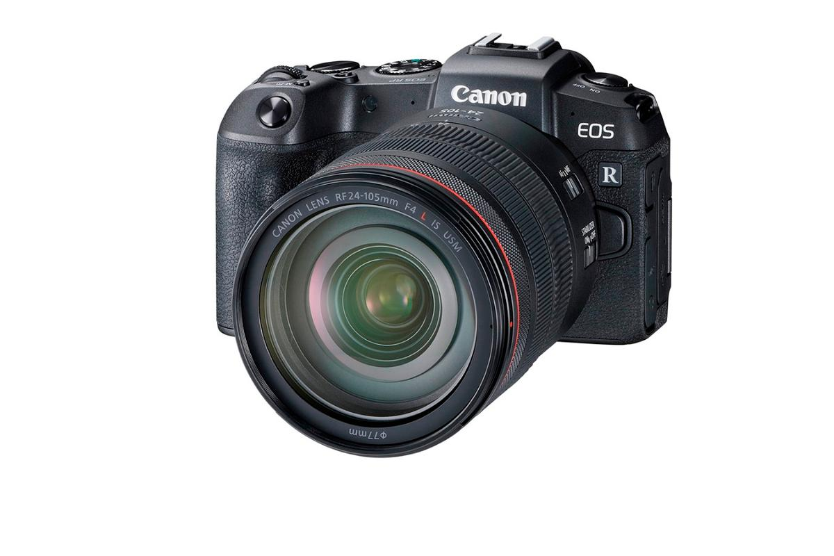"The ""entry level"" Canon EOS RP full-frame mirrorless camera is smaller than the company's Rebel T7i DSLR camera"