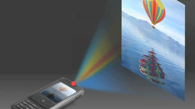 The EPFL/Lemoptix projector could be incorporated into smartphones