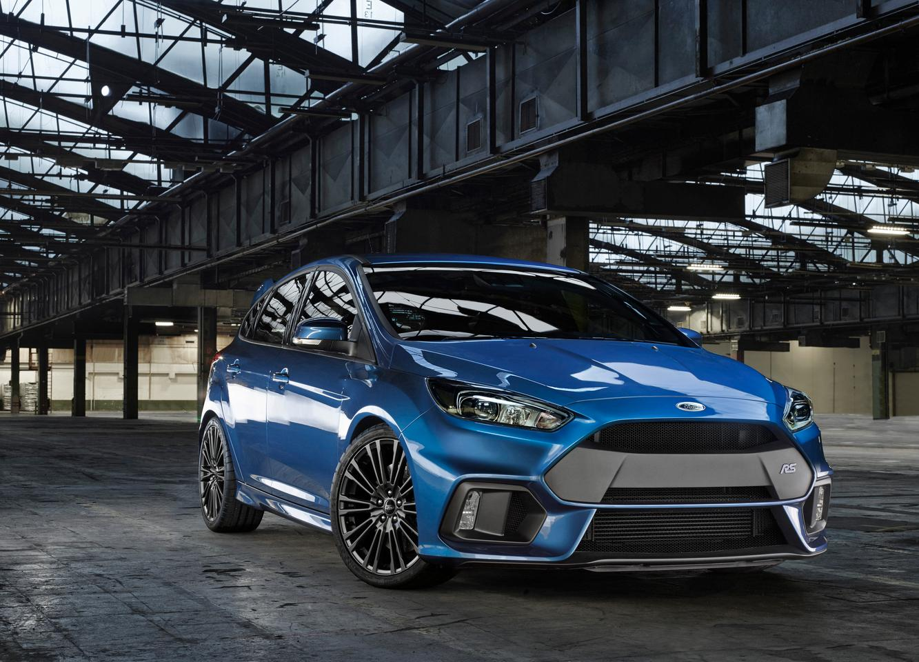 Ford's Focus RS is powered by a 2.3-liter EcoBoost engine
