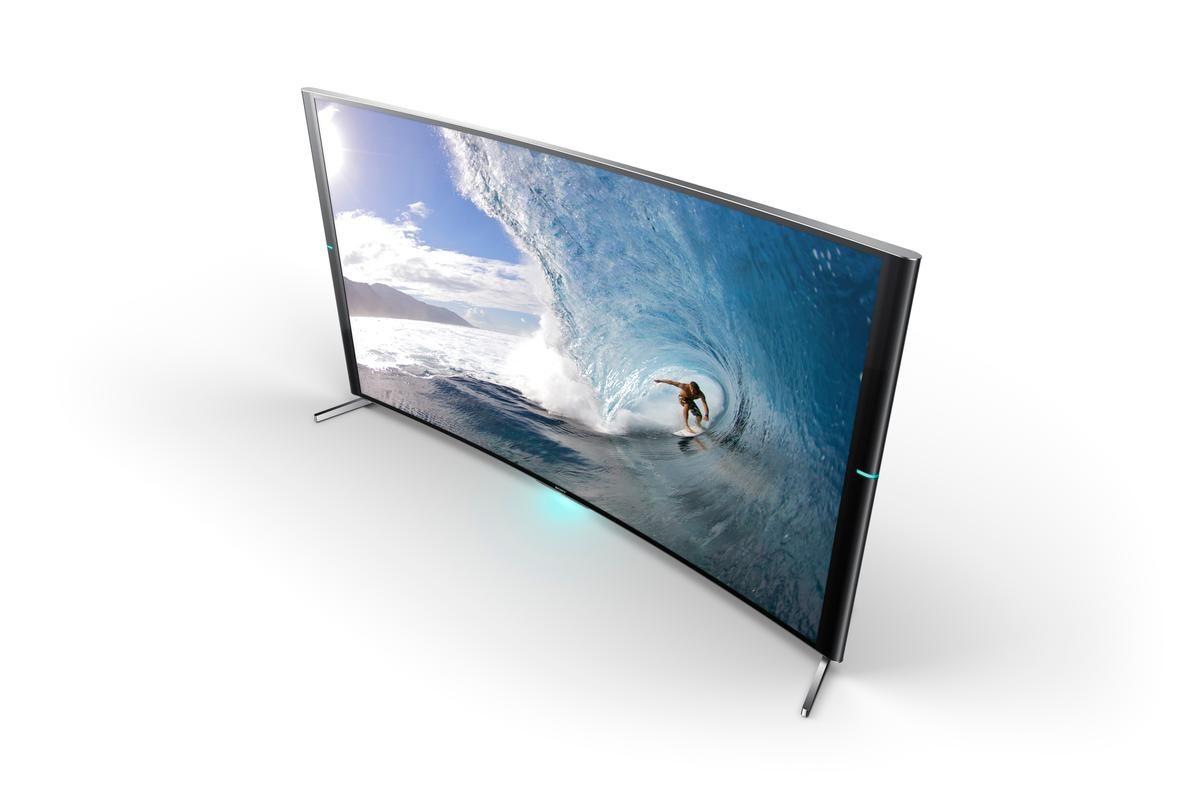 The Sony Bravia S90 curved UHD TV