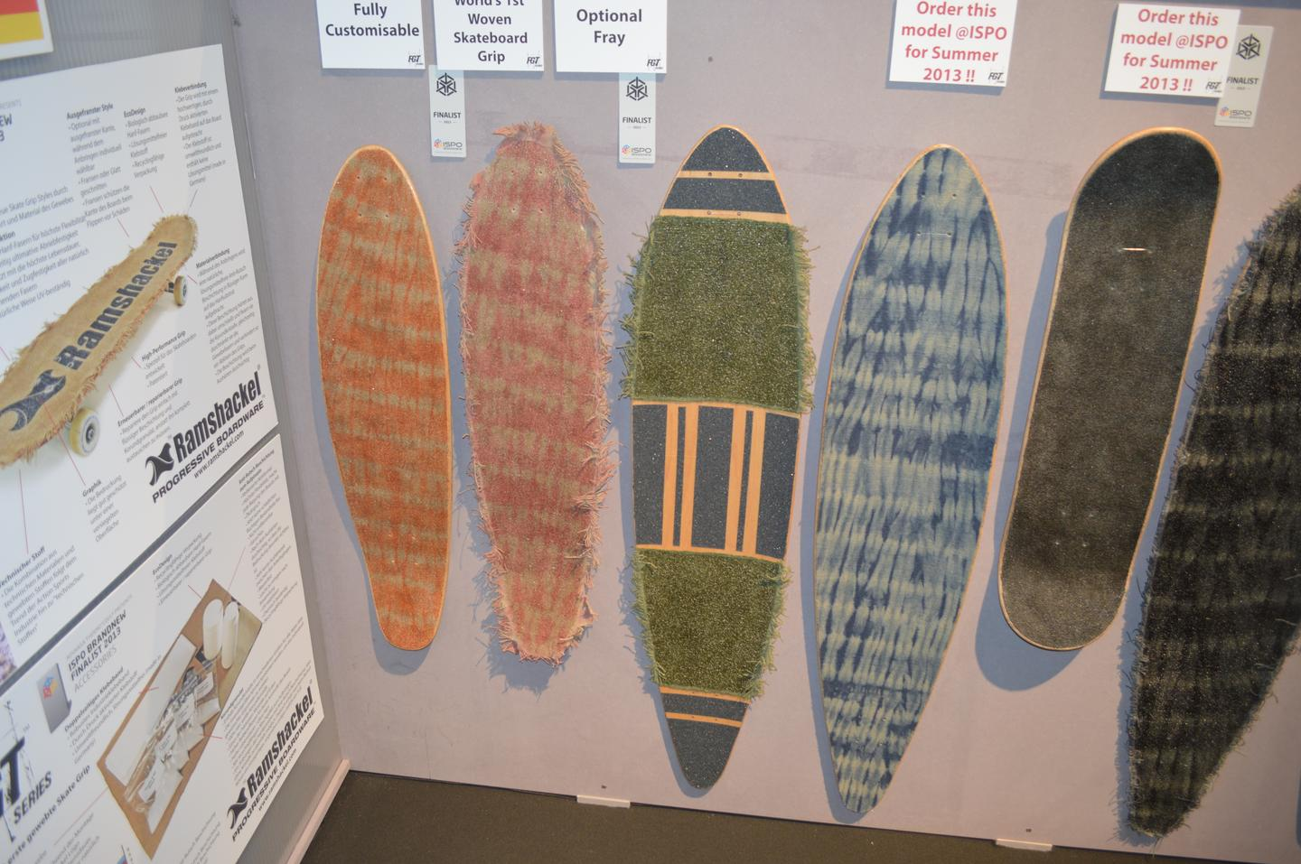 Ramshackel trades grip tape for hemp skateboard carpet