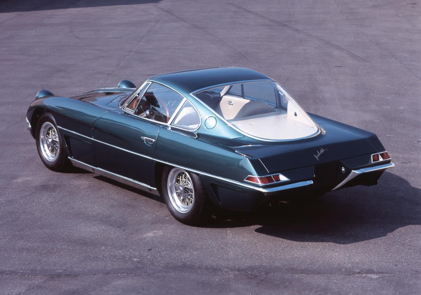 The 350 GTV, first of the first Lamborghinis, was introduced to the world at the Turin Auto Show in the fall of 1963