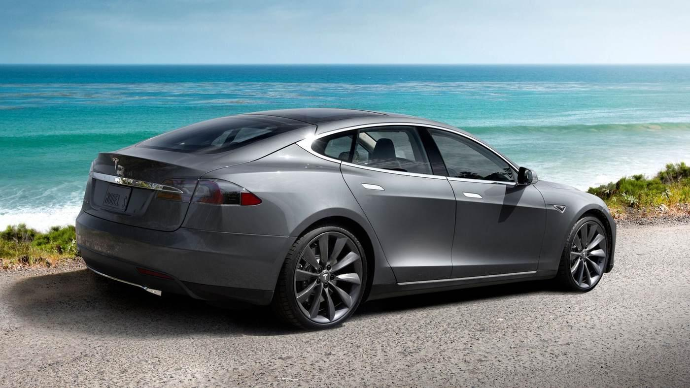 The Tesla Model 3 will be Tesla's fourth production vehicle, following the Roadster, Model S (pictured) and Model X