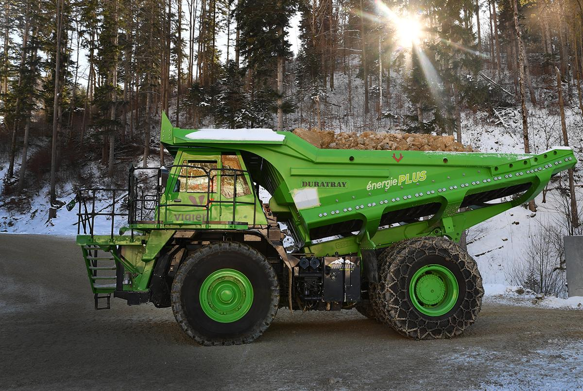 The Edumper's unique work situation allows it to harvest almost all the energy it needs from a downhill run