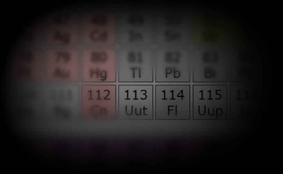 The International Union of Pure and Applied Chemistry has named four new elements recently added to the periodic table