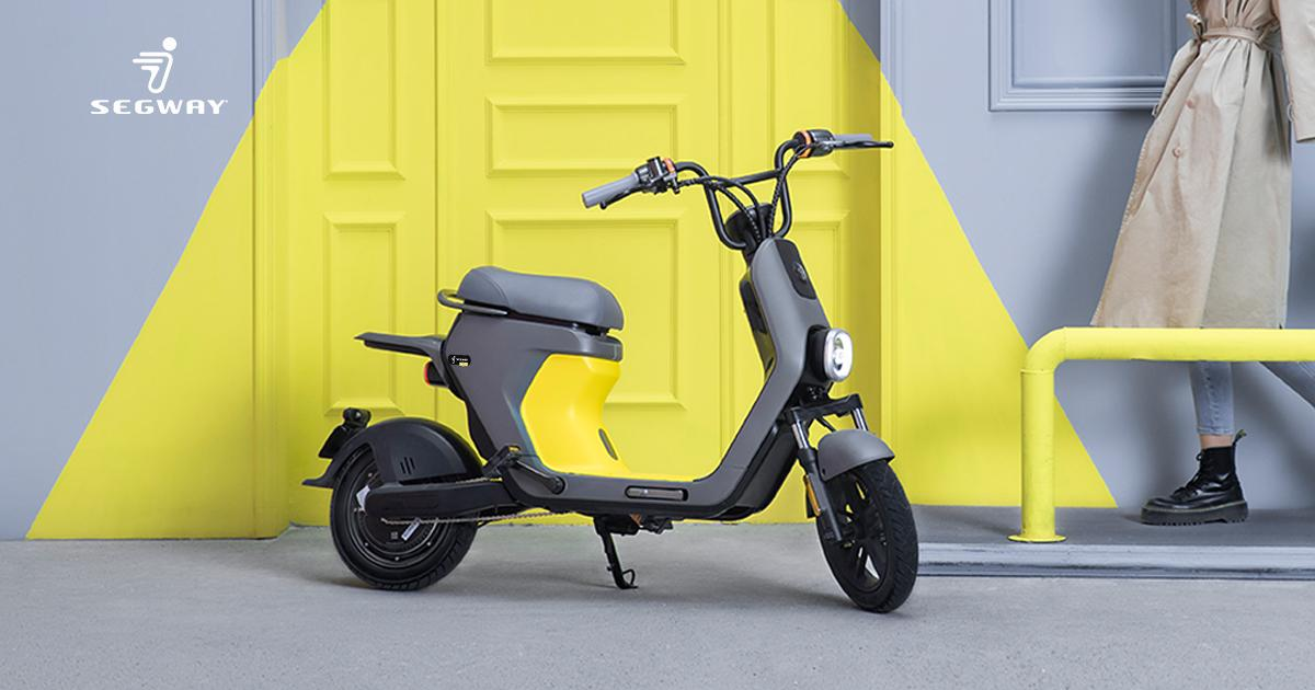 Segway rolls out C80 moped-style ebike