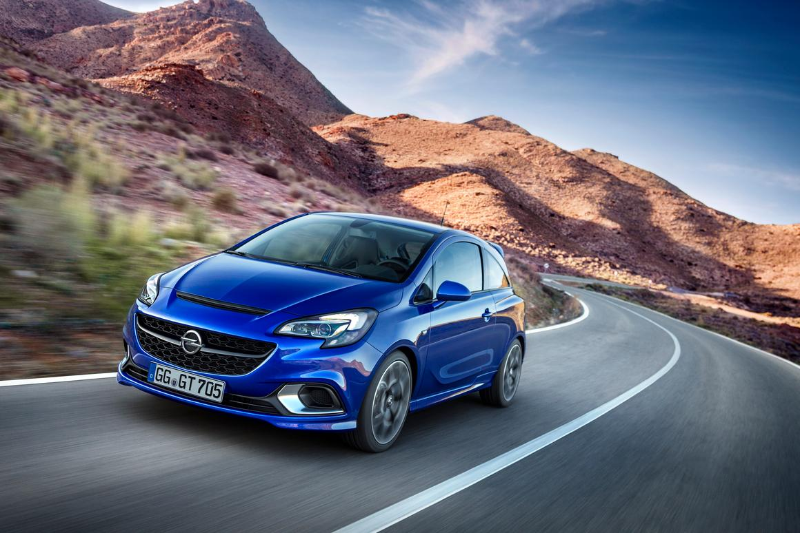 The Corsa OPC will debut at the Geneva Motor Show
