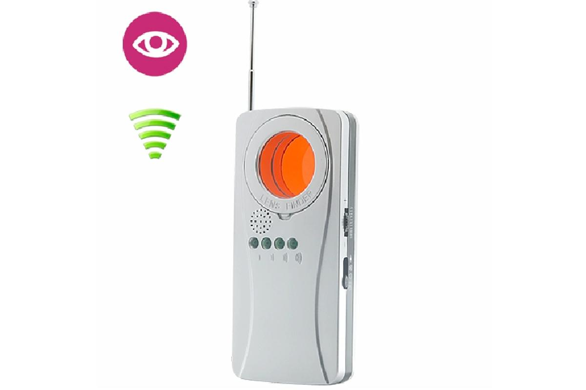 The Chinavision CMVM-J19 spy camera and Wi-Fi detector