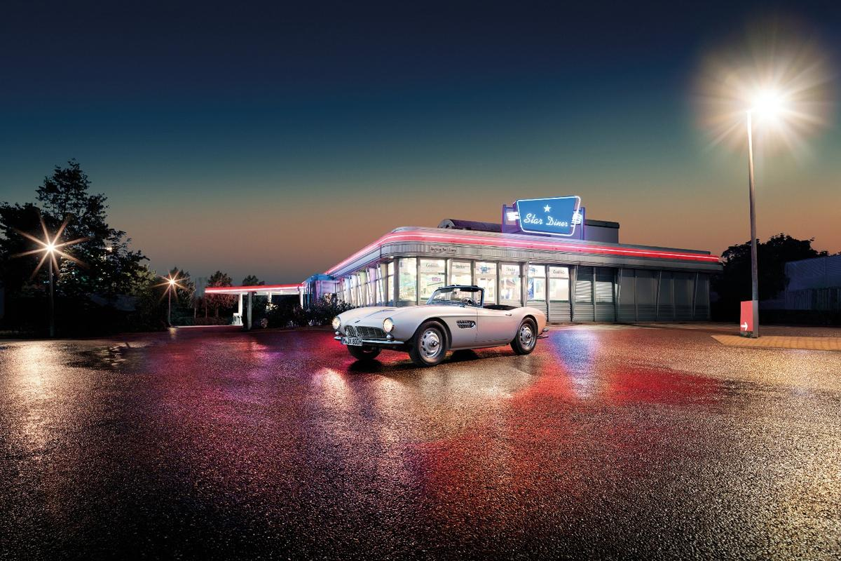 Elvis' 507 has been lovingly brought back to life by BMW