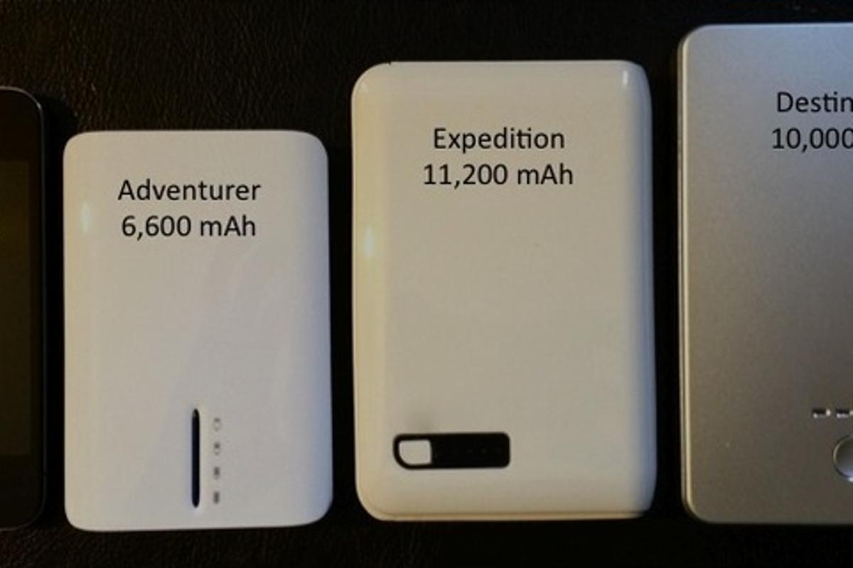 The three models of the Ultra-high capacity battery
