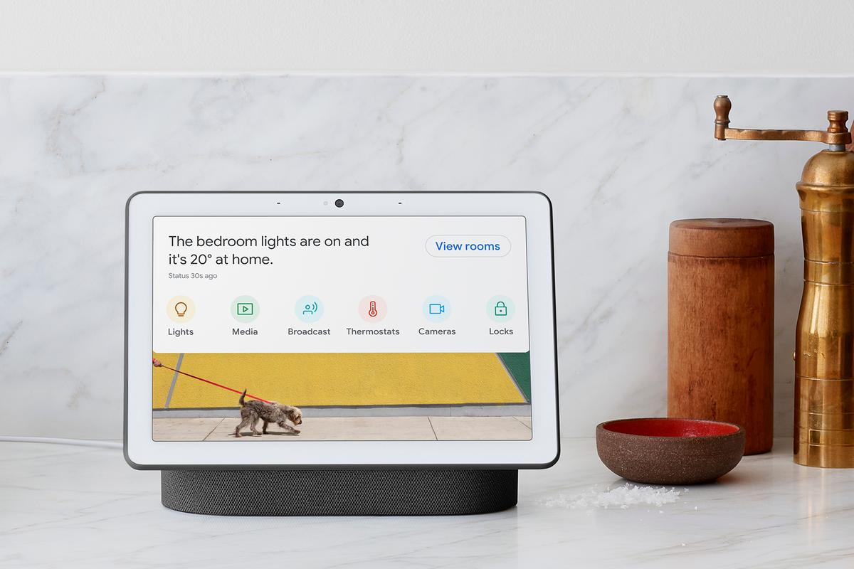 One of the primary roles of the Nest Hub Max is as a center for your smart home