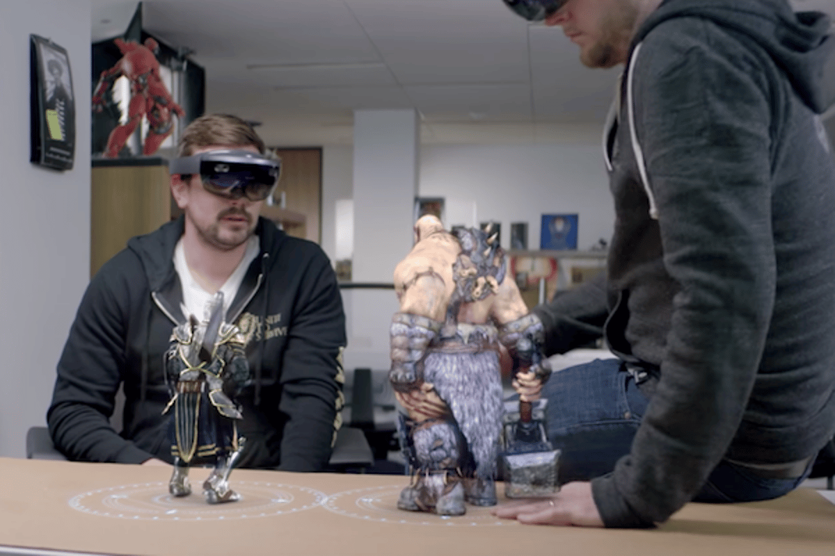 Legendary Pictures is using HoloLens to bring its characters to life as holograms