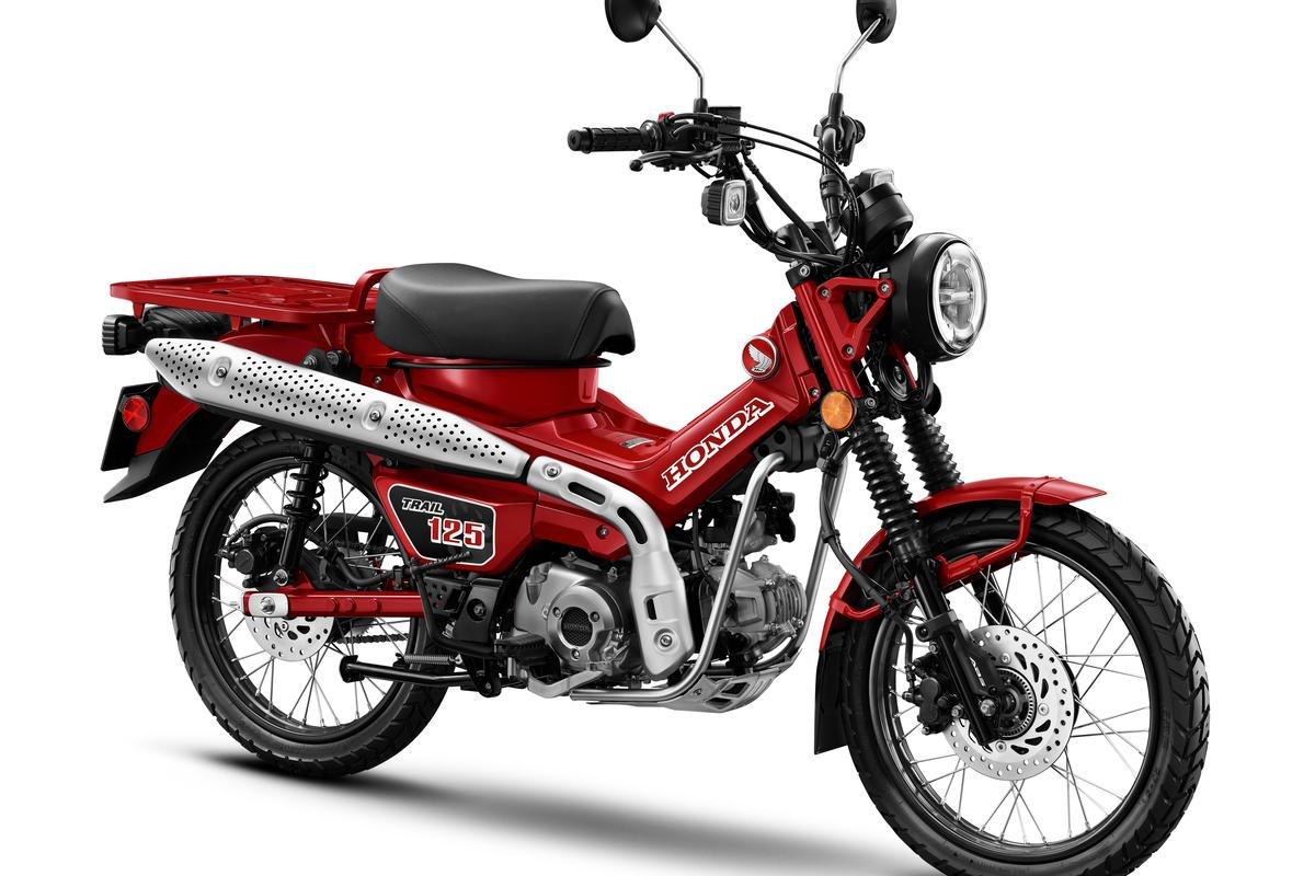 The Postie Bike is back, in a 125cc version that will be called the Honda Trail 125 in the US