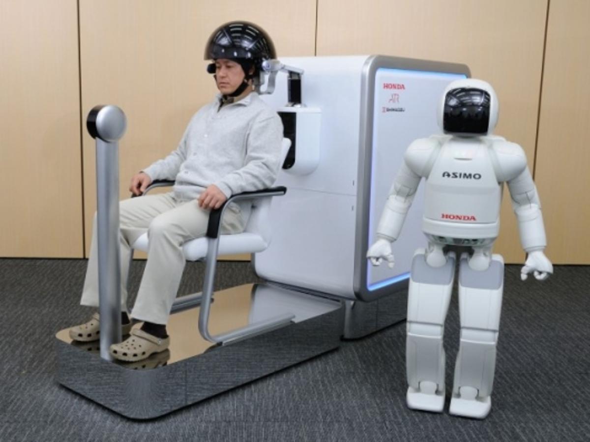 Honda demonstrates its brain-machine interface