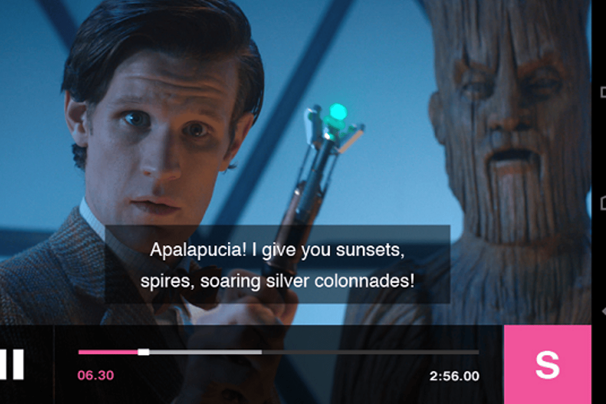 Finally, BBC iPlayer on your Android device without the need for Flash